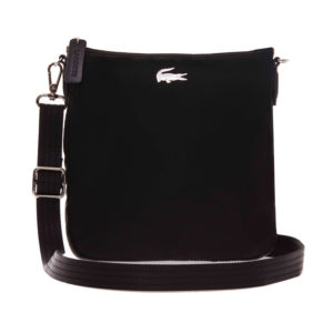lacoste-womens-l-12-12-concept-nylon-crossover-bag-black