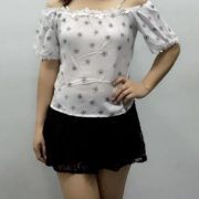 Diane Chic Tops S-M free sizewhite