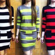 Elisa Fresh Knitted Dress S-L Free Size