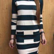 Elisa Fresh Knitted Dress S-L Free Sizegreen