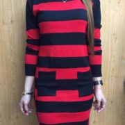 Elisa Fresh Knitted Dress S-L Free Sizered