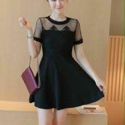 Fabienne Chic Dress S-M Free SizeBlack (1)
