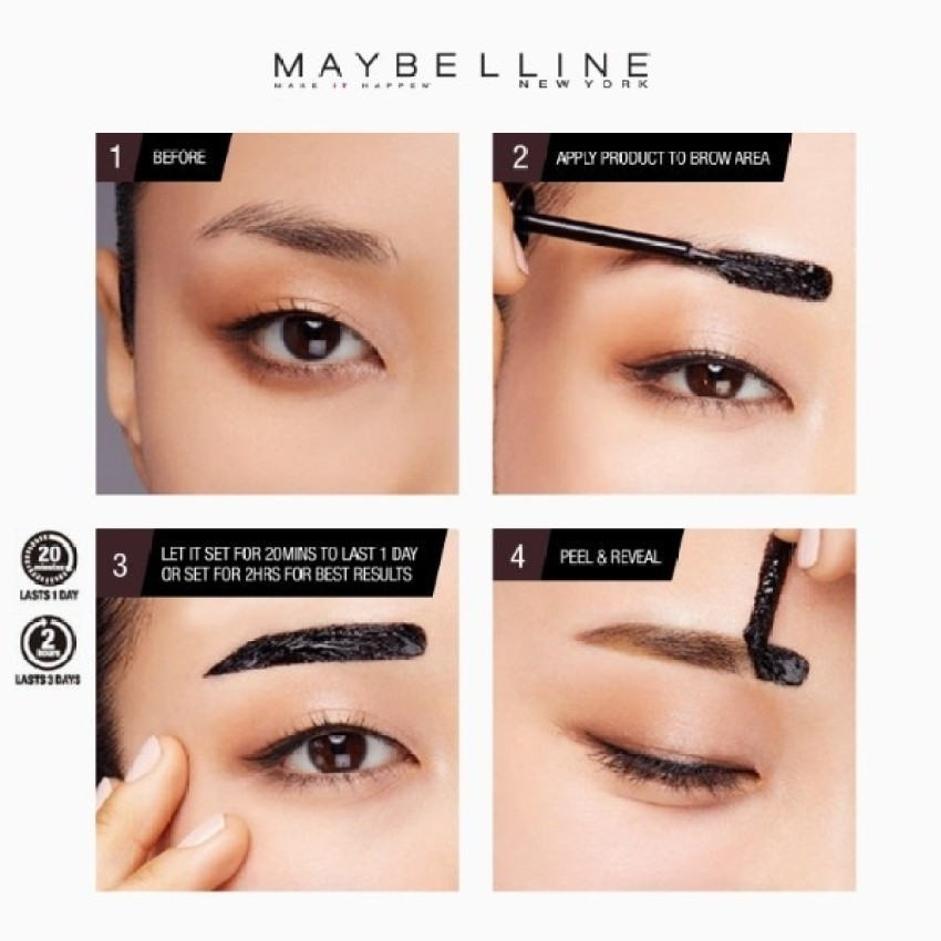 Maybelline fashion brow tattoo gel tint mayflor and me for Maybelline eyebrow tattoo