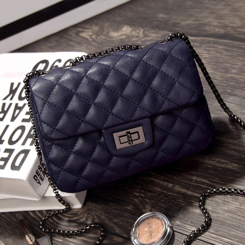 Graceful Autumn And Winter New Style Quilted Chain Bag Womens Bag