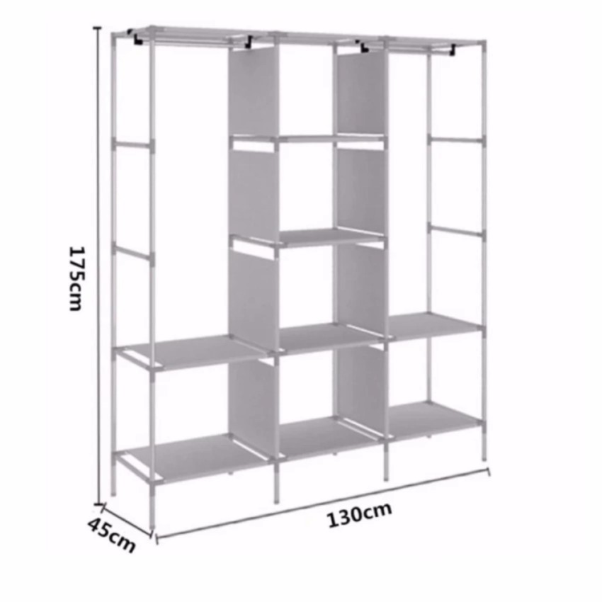 88130 Fashion High Capacity Cloth Storage ...