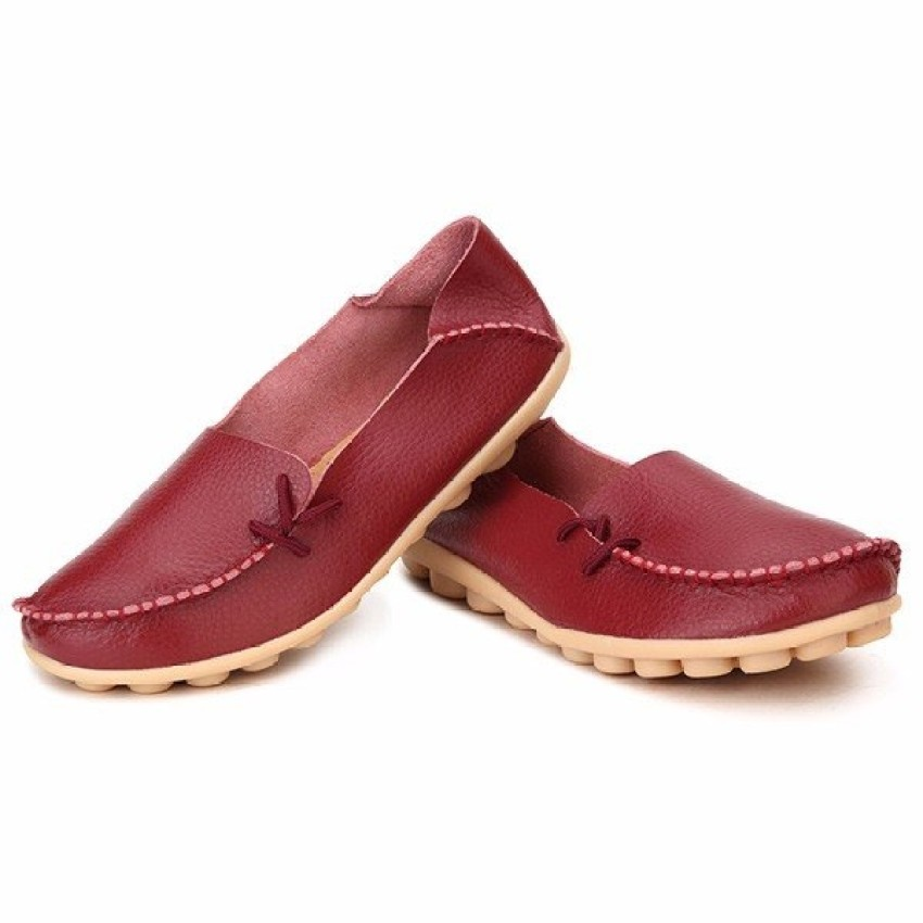 Women Shoes Leather Beanie Flat Shoes Summer Spring Autumn